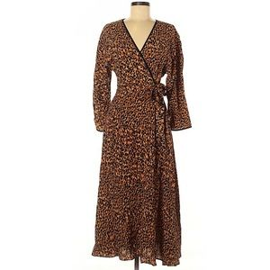 Zara cheetah dress
